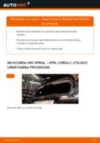Cum să schimbați: arc spiral din spate la Opel Corsa C   Ghid de înlocuire
