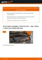 Cum să schimbați: ansamblu telescop arc din față la Opel Corsa C   Ghid de înlocuire