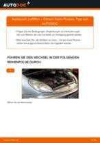 Tipps von Automechanikern zum Wechsel von CITROËN Citroen Xsara Picasso 1.6 HDi Innenraumfilter