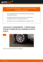 Wie Citroen Xsara Picasso Stoßdämpfer hinten wechseln - Anleitung