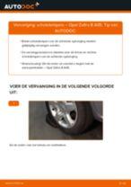 Hoe schokdempers achteraan vervangen bij een Opel Zafira B A05 – vervangingshandleiding