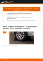 arrière + avant Amortisseurs CITROËN XSARA PICASSO (N68) | PDF tutoriel de remplacement