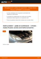 Tutoriel PDF étape par étape sur le changement de Essuie-Glaces sur Mercedes X253
