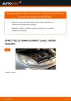 Comment changer Filtre à Carburant diesel et essence CITROËN XSARA PICASSO (N68) - manuel en ligne