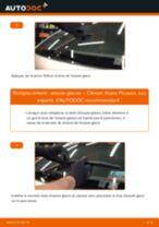 Comment changer : essuie-glaces arrière sur Citroen Xsara Picasso - Guide de remplacement