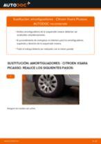 PDF manual de reemplazo: Amortiguador CITROËN XSARA PICASSO (N68) delanteros y traseros