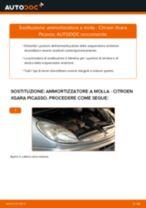 Come cambiare ammortizzatore a molla della parte anteriore su Citroen Xsara Picasso - Guida alla sostituzione