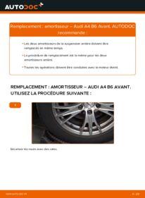 Comment effectuer un remplacement de Amortisseurs sur 1.9 TDI Audi A4 B6 Avant