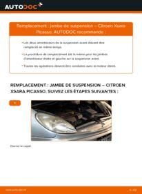 Comment effectuer un remplacement de Amortisseurs sur 2.0 HDi Citroën Xsara Picasso