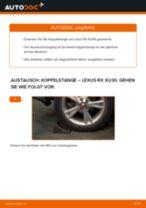 Reparatur- und Servicehandbuch für MERCEDES-BENZ GL