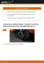 Schritt-für-Schritt-PDF-Tutorial zum Lagerung Radlagergehäuse-Austausch beim Peugeot 306 7a