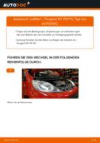 Renault Trafic FL Lagerung Achskörper: Online-Handbuch zum Selbstwechsel