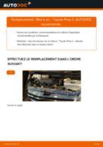 Notre guide PDF gratuit vous aidera à résoudre vos problèmes de TOYOTA Toyota Prius 2 1.5 Hybrid (NHW2_) Filtre à Huile