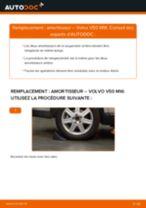 PDF manuel de remplacement: Amortisseur VOLVO V50 (545) arrière + avant
