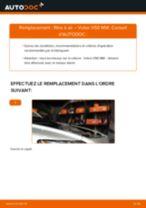 Changement Flexible De Frein VOLVO V50 : manuel d'atelier
