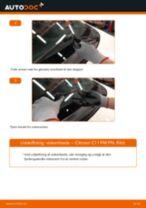Udskift viskerblade for - Citroen C1 1 PM PN | Brugeranvisning
