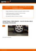 Automekaniker anbefalinger for udskiftning af VOLVO Volvo v50 mw 1.6 D Bremseklodser