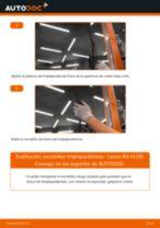 Cambiar Cable De Freno De Mano LEXUS RX: manual de taller