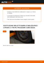 Montaggio Barra accoppiamento CITROËN C1 (PM_, PN_) - video gratuito
