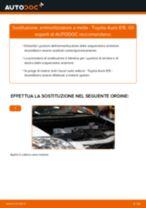 Guida passo passo alla riparazione Toyota Corolla Verso E12