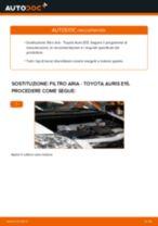 Come cambiare filtro aria su Toyota Auris E15 - Guida alla sostituzione