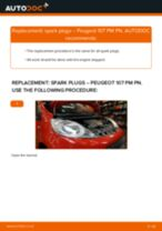 How to change spark plugs on Peugeot 107 PM PN – replacement guide