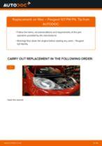 DIY PEUGEOT change Air Filter - online manual pdf