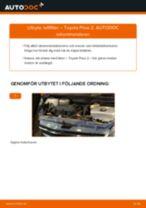 PDF guide för byta: Luftfilter TOYOTA PRIUS Halvkombi (NHW20_)