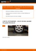 Hur byter man och justera Fjäderben VOLVO V50: pdf instruktioner