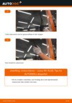 Bytte Blinkers bak høyre SSANGYONG gjør-det-selv - manualer pdf på nett