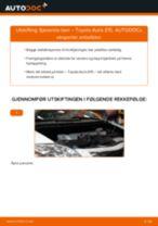 DIY-manual for utskifting av Bremseskiver i KIA SOUL 2020