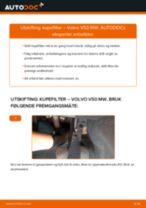 Mekanikerens anbefalinger om bytte av VOLVO Volvo v50 mw 1.6 D Drivstoffilter