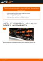 Kuinka vaihtaa polttoainesuodatin Volvo V50 MW-autoon – vaihto-ohje