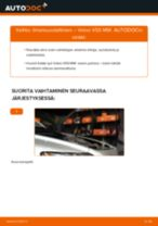 Automekaanikon suositukset VOLVO Volvo v50 mw 1.6 D -auton Polttoainesuodatin-osien vaihdosta