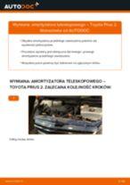 Montaż Amortyzatory TOYOTA PRIUS Hatchback (NHW20_) - przewodnik krok po kroku