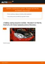 Jak vyměnit Zapalovaci civka Peugeot 307 Combi - manuály online