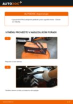 Pathfinder WD21 výměna Brzdove hadicky zadní levý: návody pdf