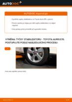 Jak vyměnit a regulovat Brzdovy valecek TOYOTA AURIS: průvodce pdf