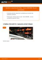 Jak vyměnit vzduchový filtr na Volvo V50 MW – návod k výměně