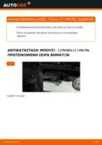 Πώς να αλλάξετε μπουζί σε Citroen C1 1 PM PN - Οδηγίες αντικατάστασης