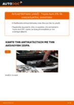 DENSO IKBH20TT για AURIS (NRE15_, ZZE15_, ADE15_, ZRE15_, NDE15_)   PDF οδηγίες αντικατάστασης