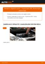 Priročnik za delavnico za Toyota Avensis Verso M2