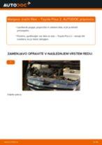 Zracni filter TOYOTA PRIUS Hatchback (NHW20_) | PDF vodič za zamenjavo