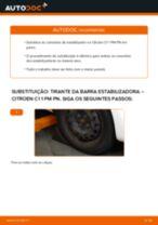 Substituição Unidade de bobinas de ignição CITROËN C1: pdf gratuito