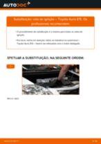 Manual de solução de problemas do Toyota Avensis T27 Carrinha 1.6 D4-D (WWT270_)
