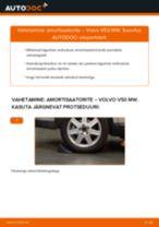 Kuidas vahetada ja reguleerida tagumine ja eesmine Amort: tasuta pdf juhend