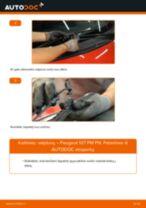 Kaip pakeisti Peugeot 107 PM PN valytuvų: priekis - keitimo instrukcija