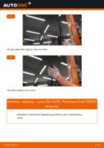 Montavimo Įsiurbimo vamzdis, oro filtras LEXUS RX (MHU3_, GSU3_, MCU3_) - žingsnis po žingsnio instrukcijos