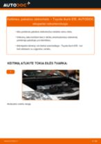 Žingsnis po žingsnio remonto vadovas Toyota Corolla Verso E12