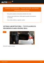 Instrukcijos PDF apie COROLLA priežiūrą